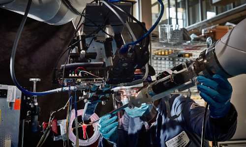 Researchers from Children's National Hospital and Johns Hopkins University are developing a robot capable of conducting a challenging step of colon surgery on its own.
